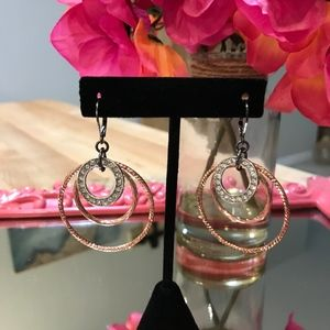 Jewelry - Mixed Metal Tone Earrings from Macy's-NWOT